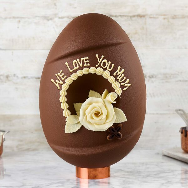 The Handcrafted Chocolate Easter Egg