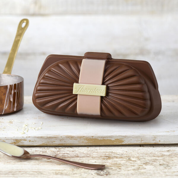Milk Chocolate Clutch Bag