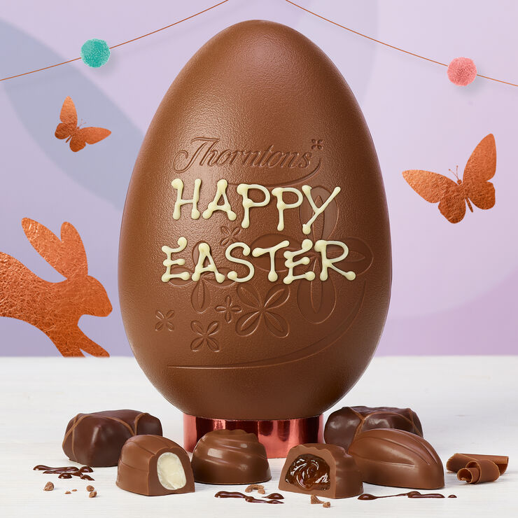 Nuts and Praline Easter Egg