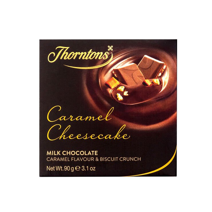 Caramel Cheesecake Chocolate Block