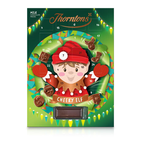 Milk Chocolate Cheeky Elf Advent Calendar