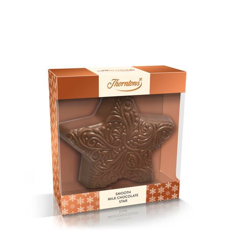 Large Milk Chocolate Star Model