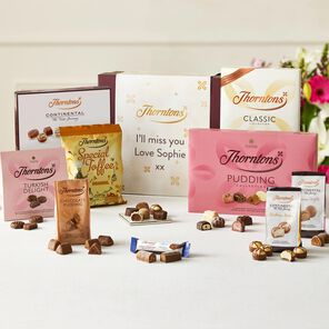 Personalised Best Sellers Chocolate Hamper tablet