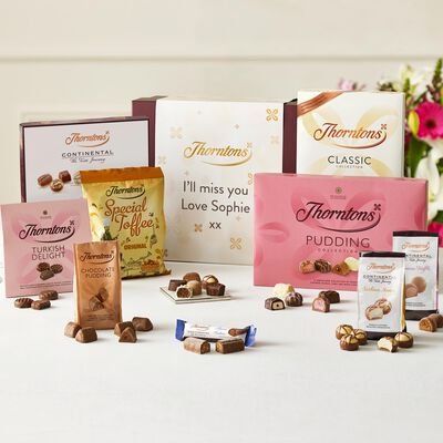 Personalised Best Sellers Chocolate Hamper desktop