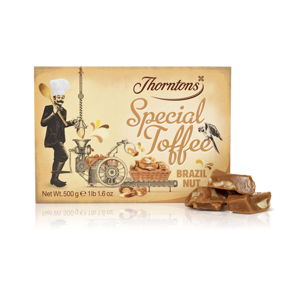 Special Toffee Box Brazil Nut Smothered Toffees Thorntons