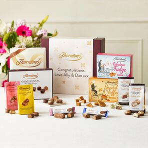 Personalised Signature Flavours Chocolate Hamper tablet