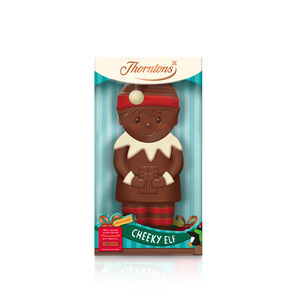 Milk Chocolate Cheeky Elf Model tablet