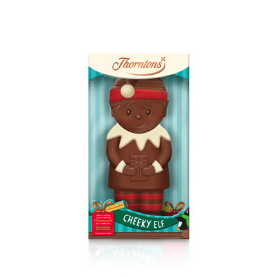 Milk Chocolate Cheeky Elf Model desktop