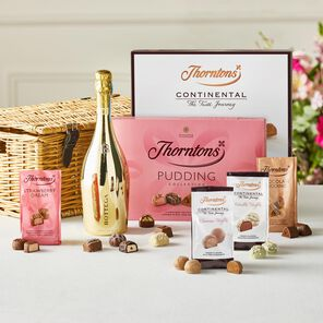 Prosecco Celebration Wicker Hamper tablet