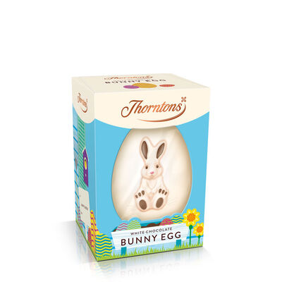 White Chocolate Bunny Easter Egg desktop