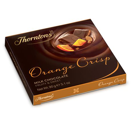 Orange Crisp Chocolate Block