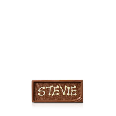 Personalised Milk Chocolate Gift Tag