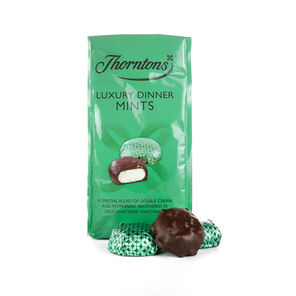 Bag of Luxury Dinner Mints tablet