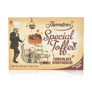 Chocolate Smothered Special Toffee Box tablet