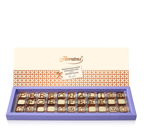 Box of 33 Alphabet Truffles