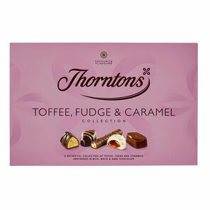 Toffee, Fudge and Caramel Collection tablet