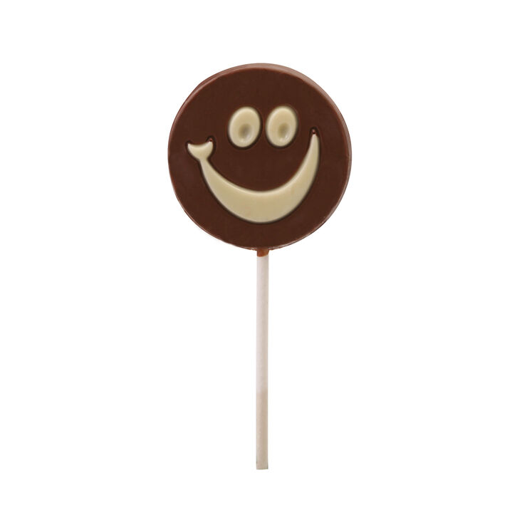 Milk Chocolate Smiles Lolly