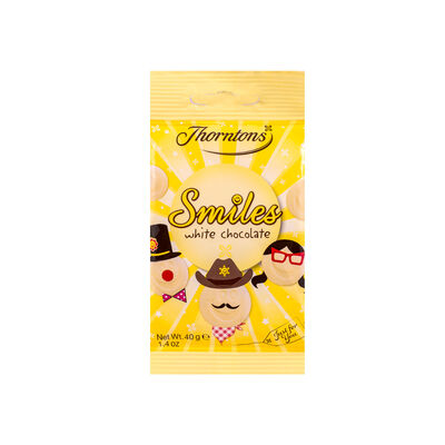 White Chocolate Smiles Bag