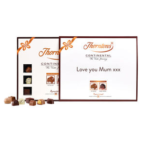 Personalised Continental Specialist Selection tablet