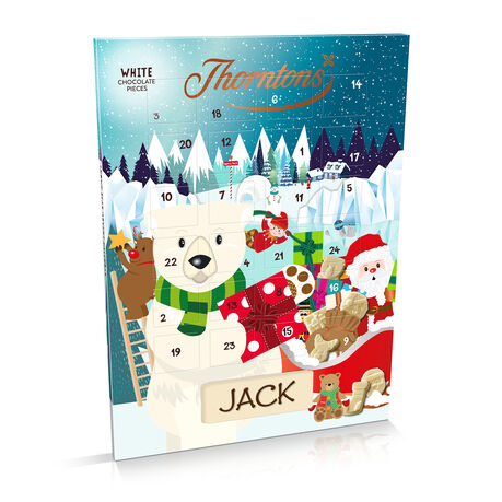 White Chocolate Polar Bear Advent Calendar