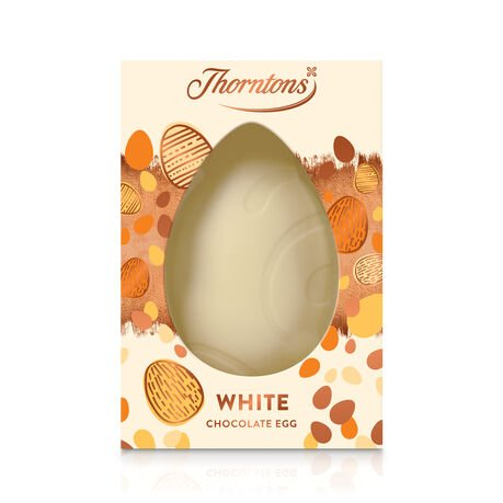 Large Personalisable White Chocolate Easter Egg