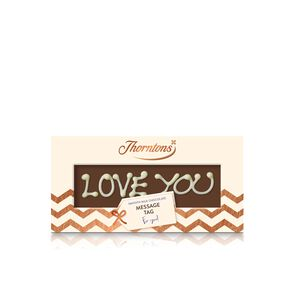 Personalised Milk Chocolate Gift Tag tablet