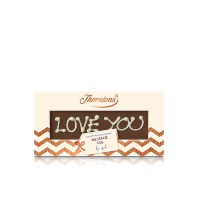 Personalised Milk Chocolate Gift Tag desktop
