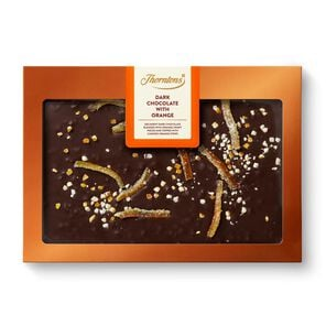 Dark Chocolate with Orange Block tablet