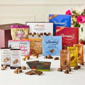 Taste of Thorntons Chocolate Hamper tablet