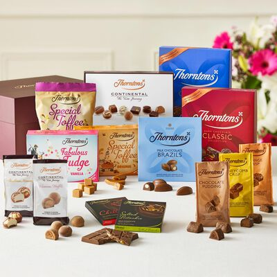 Taste of Thorntons Chocolate Hamper desktop