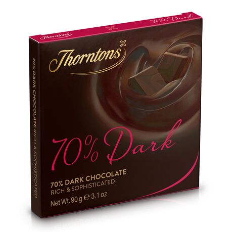 70% Deliciously Dark Chocolate Block