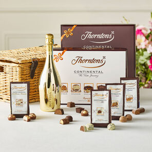 Prosecco and Continental Wicker Hamper tablet