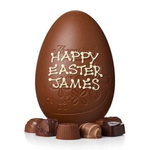 Toffee, Fudge and Caramel Easter Egg tablet