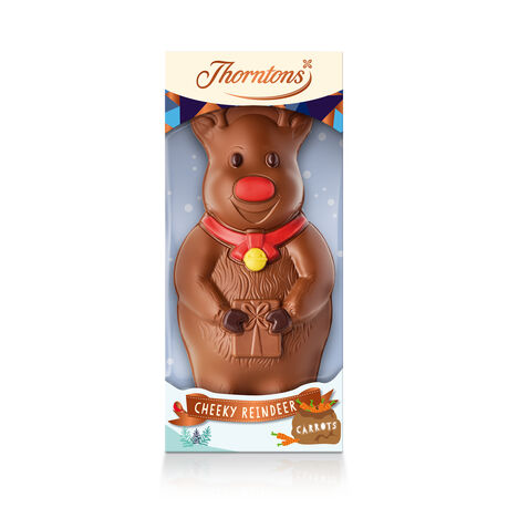 Milk Chocolate Reindeer Model