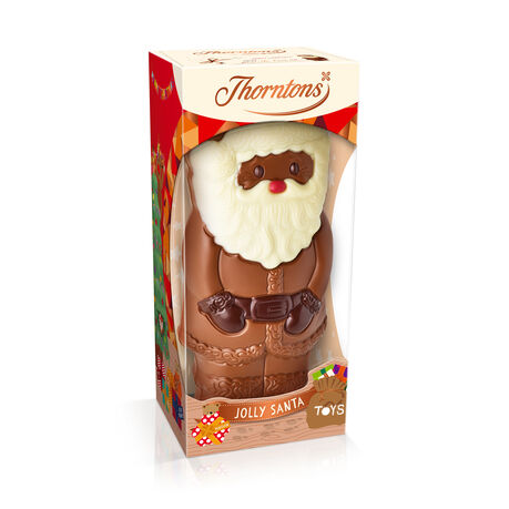 Milk Chocolate Santa Model