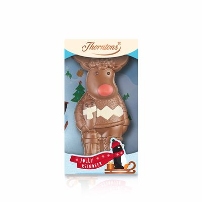 Milk Chocolate Reindeer Model desktop