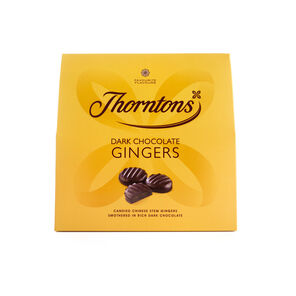 Dark Chocolate Gingers Box tablet