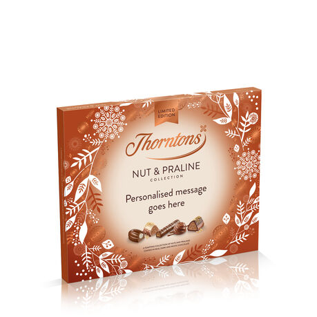 Personalised Nut and Praline Christmas Collection