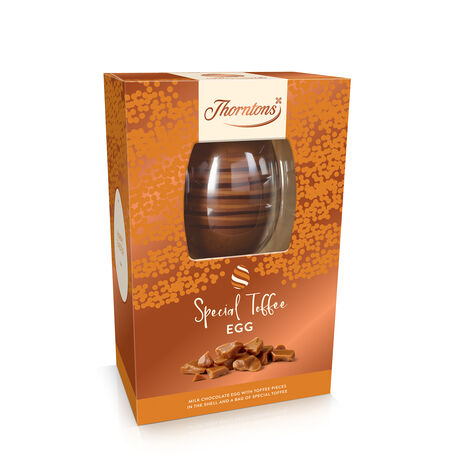 Milk Chocolate and Toffee Easter Egg
