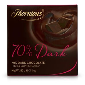 70% Deliciously Dark Chocolate Block tablet