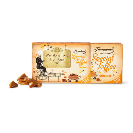 Personalised Original Toffee Box