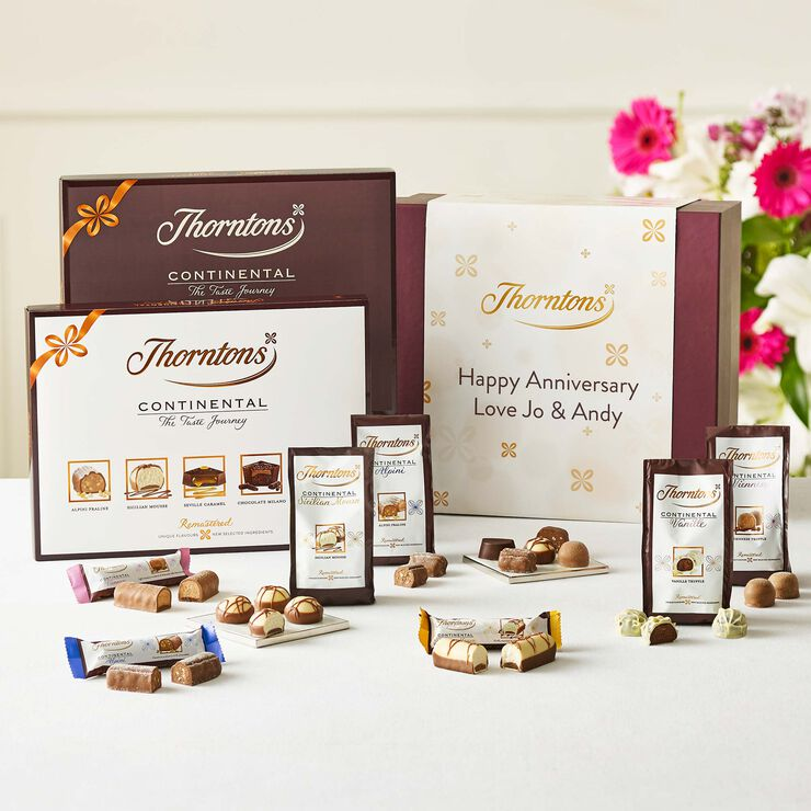 Personalised Continental Taste Journey Hamper