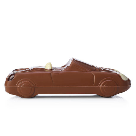 Milk Chocolate Racing Car Model