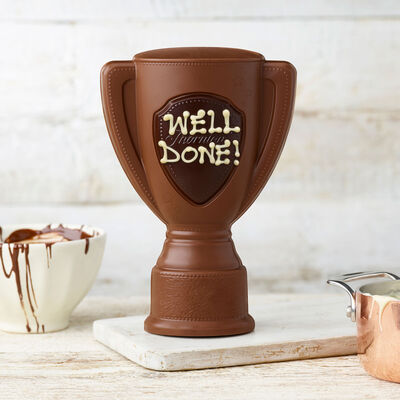 Milk Chocolate Trophy Model desktop