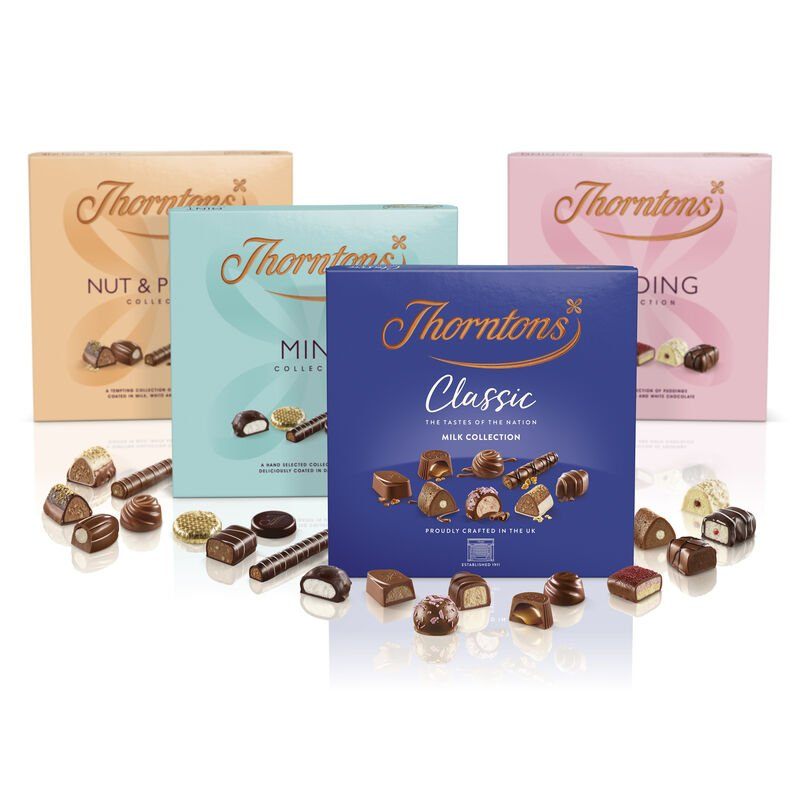 Milk Chocolate Classic and Favourite Flavours Collection