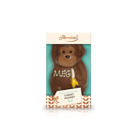 Milk Chocolate Cheeky Monkey Model