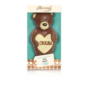 Milk Chocolate Big Bear Hugs Model tablet