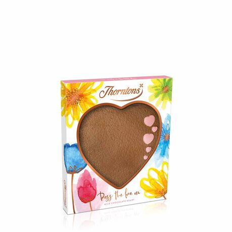 Milk Chocolate Heart Plaque