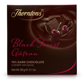 Black Forest Gateau Chocolate Block tablet