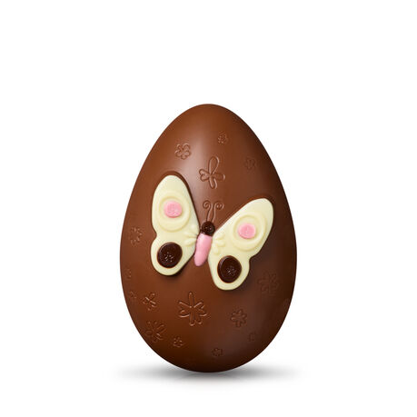 Milk Chocolate Butterfly Easter Egg
